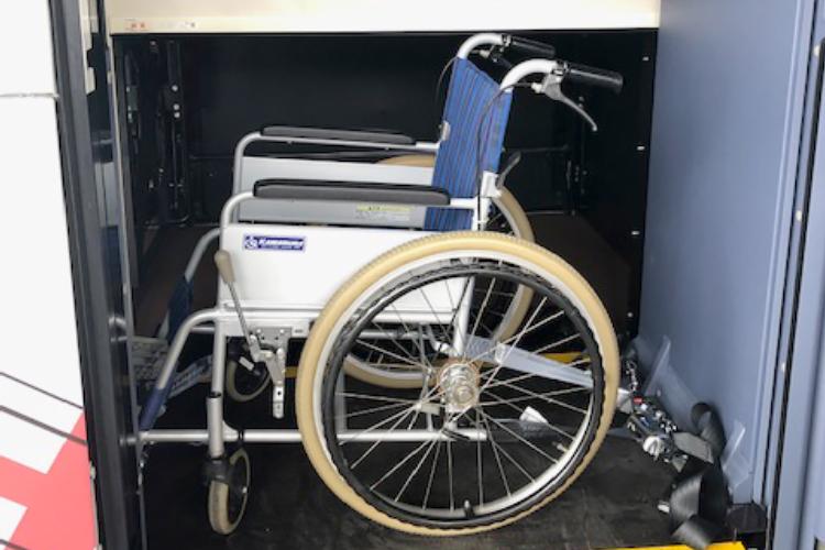 車椅子でもご乗車いただけます